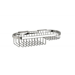 Miller Classic Chrome Plated Wall Mounted 280mm Oval Basket