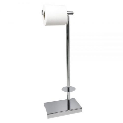 Miller Classic Chrome Freestanding Toilet Roll Holder-0