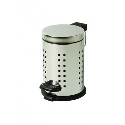 MIllers Cube Pedal Bin Polished