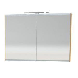 Millers London Natural Oak Double 100cm Bathroom Cabinet