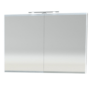 Millers London White 100cm Double Bathroom Cabinet
