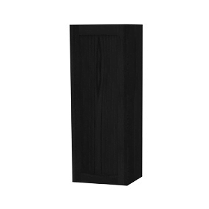 Millers London Left Hand Black Oak Door Storage Cabinet