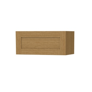 Millers London Natural Oak Flap Opening Storage Cabinet