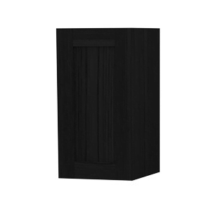Millers London Left hand Black Oak Storage Cabinet