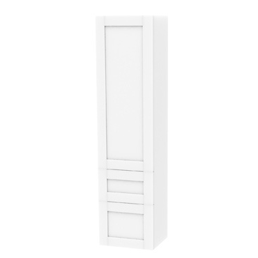 Millers London Left Hand Light Grey 2 Drawer Storage Cabinet
