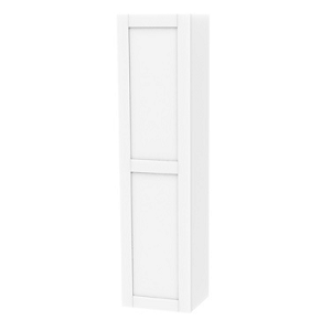 Millers London Right Hand White Tall Storage Cabinet-0