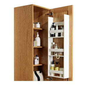 Millers New York Natural Oak Right Hand Tall Storage Cabinet-12250