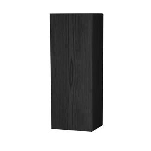 Millers New York Left Hand Black Oak Storage Cabinet