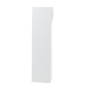 Millers New York White Left Hand Tall Cabinet With Door Storage