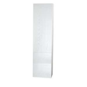 Millers New York White Structure 2 Door Tall Storage Cabinet