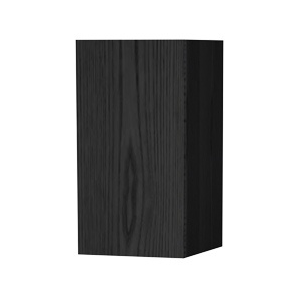 Millers New York Right Hand Black Oak Storage Cabinet