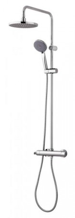 GRB ENTERPLUS THERMOSTATIC SHOWER WITH FIXED COLUMN XL+METALLIC SHOWERHEAD