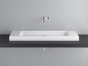 Bette Aqua Counter Basin 120 X 40 Nth Whit