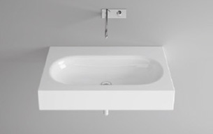 Bette Comodo Wall Mounted Basin 100 X 49 Nth Wh