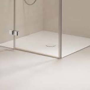 Bette Floor Shower Waste White Flow=50L