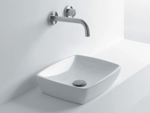 Bette Lux Counter Basin 100 X 48 Nth White