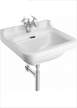 Bette Lux Counter Basin 80 X 48 Nth White