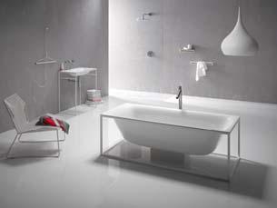 Bette Lux Shape Basin Frame 100X49 White