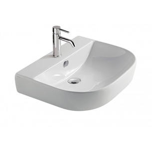 Bette Lux Wall Basin 60 X 48 Nth White