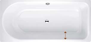 Bette Ocean Lowline 170X80 8836-000 Lh O/F