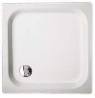 Bette Tray 5530-000 75 X 75 X 6.5 White
