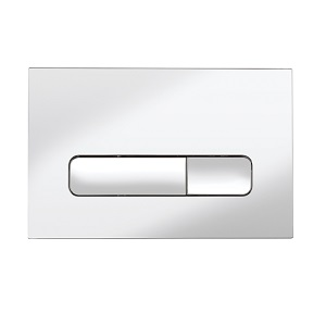Crosswater Atoll Chrome Flush Plate ATFLUSHC