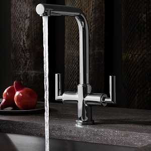 Crosswater Tropic Dual Control Kitchen Mixer TP711DC