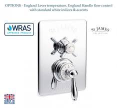 St James Concealed Thermostatic Shower Valve SJ7600CPEHEL