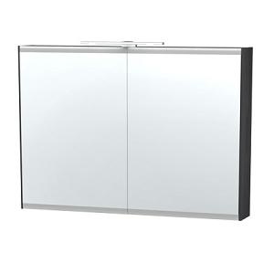 Millers London Light Grey 100cm Double Bathroom Cabinet