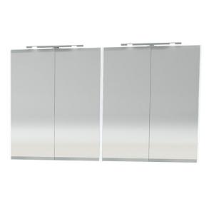 Millers London Light Grey 120cm Double Bathroom Cabinet