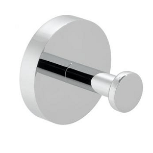 Vado Spa Wall Mounted Round Single Robe Hook