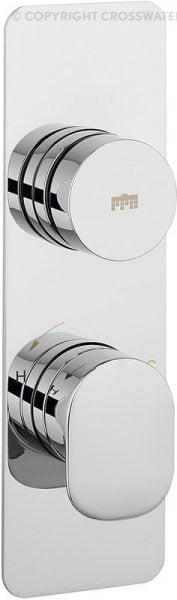 Crosswater Pier Dial Shower Valve 1 Control DIAL-PIER-1