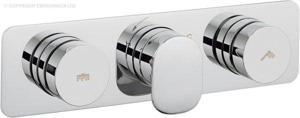 Crosswater Pier Dial Shower Valve 2 Control DIAL-PIER-4