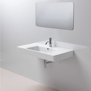 GSI Sand 100cm 1 Tap Hole Basin Spacious Sides With Overflow-13736