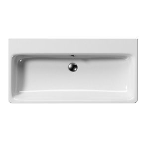 GSI Sand 100cm Wall Mounted 1 Tap Hole Basin With Overflow-13732