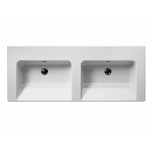 GSI Norm 125 Double Washbasin With Overflows GS8625-0