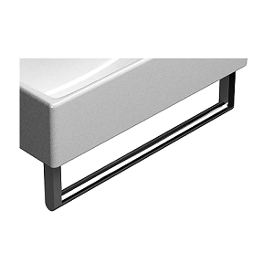 GSI Square Chromed Metal Double Towel Rail For 125 Basin-13790