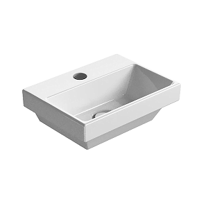 GSI Norm 35 Wall Mounted 1 Tap Hole Washbasin GS8650-0