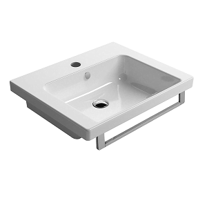 GSI Norm 60 1 Tap Hole Washbasin With Overflow GS8683-0
