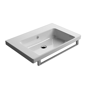 GSI Norm 75 1 Tap Hole Washbasin With Overflow GS8687-0