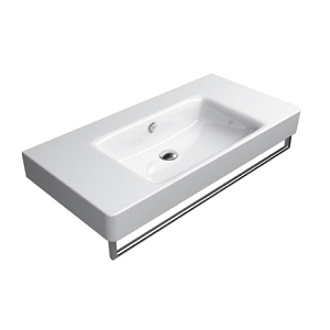 GSI Sand 100cm 1 Tap Hole Basin Spacious Sides With Overflow-0