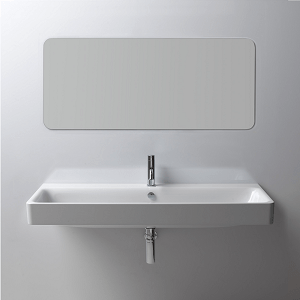 GSI Sand 120cm 1 Tap Hole Basin With Overflow-0