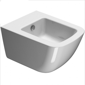 GSI Sand 55 Wall Hung 545x370mm 1 Tap Hole Bidet-0