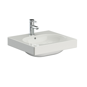Saneux Austen 50 x 39cm Basin With No Tap Holes 50000.0-0