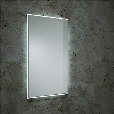Bathroom Origins Fractal 120x55cm Back Lit LED Mirror-0