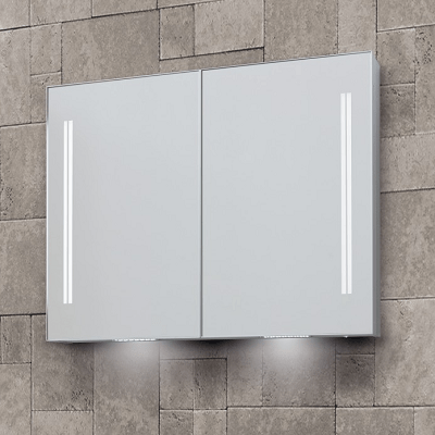 Bathroom Origins Space II 90cm Semi Recessed Cabinet-0