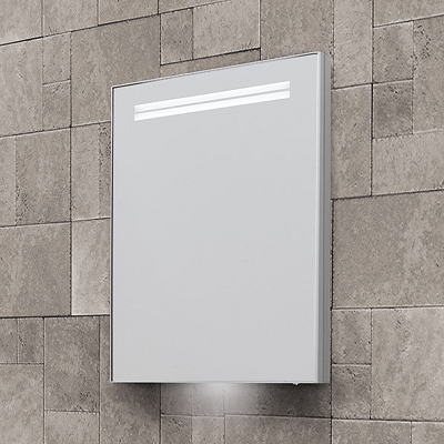 Bathroom Origins Space II SR Semi Recessed Illuminated Cabinet-0