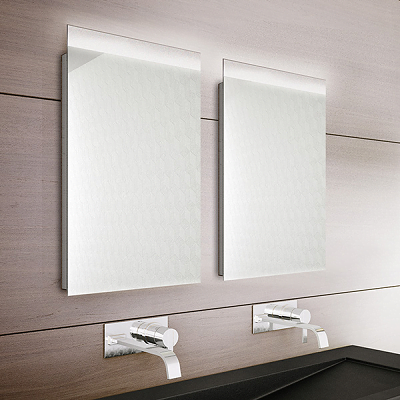 Bathroom Origins Topline 400mm Back Lit LED Mirror-0
