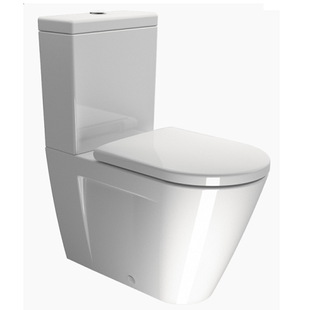 GSI Ceramica Norm 68 Close Coupled Cistern With Lid-0
