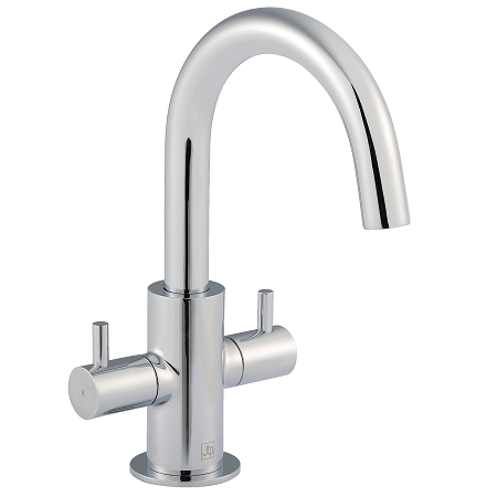 Just Taps Plus Florence Chrome Mono Swivel Spout Mixer-0